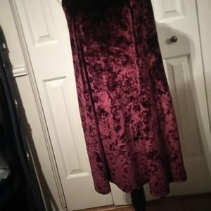 Arizona Jean Company Dresses - Crushed Velvet Midi size XL